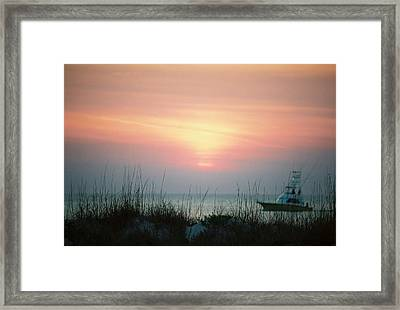 Days End.. Framed Print