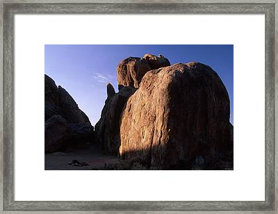 Days End - Alabama Hills Framed Print