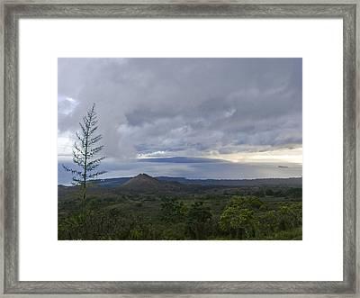 Days End At Kahoolawe Framed Print by Charlie Osborn