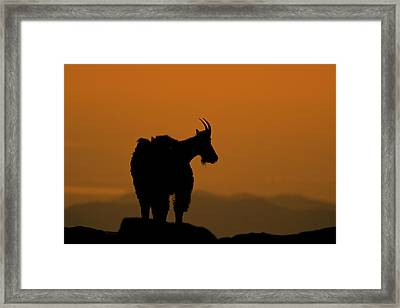 Framed Print featuring the photograph Day's End by Gary Lengyel