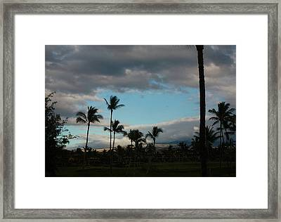 Days End Hawaii Framed Print