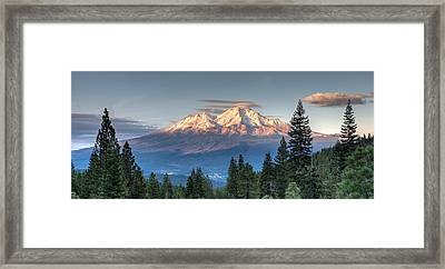 Days End Framed Print