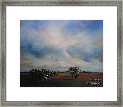 Day's End Framed Print by Michele Hollister - for Nancy Asbell