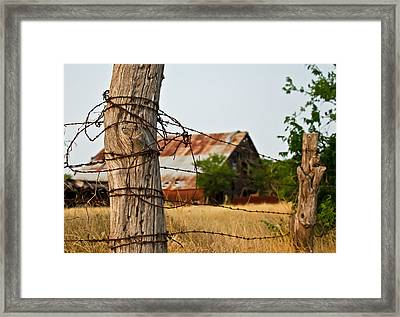 Days Gone By Framed Print by Lisa Moore