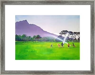 Days Like This Framed Print by Tim Johnson