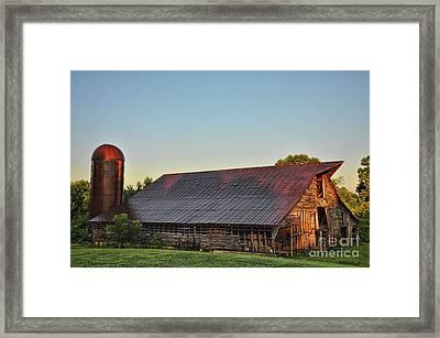 Days Of Thunder Barn Framed Print
