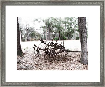 Days Past Framed Print by Judy  Waller