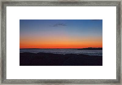 Framed Print featuring the photograph Days Pre Dawn by  Newwwman