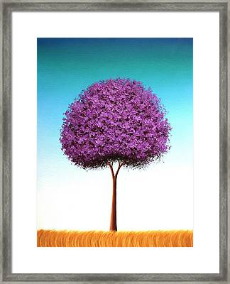 Days To Call On Framed Print by Rachel Bingaman