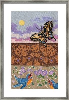 Framed Print featuring the painting Daytime by Chholing Taha