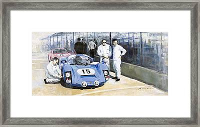 Daytona 1966 Porsche 906 Herrmann-linge Framed Print