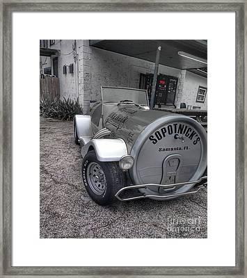 Daytona Bike Week  Framed Print by Steven Digman