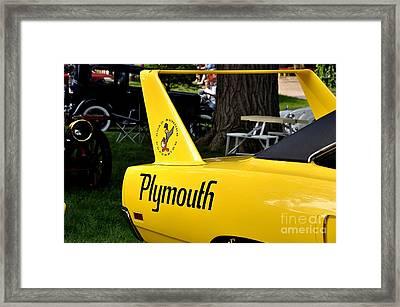 Daytona Framed Print