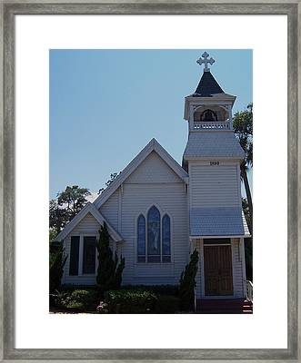 Daytona Church Framed Print by Kim Zwick