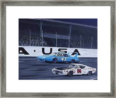 Daytona Framed Print by Michael Smith