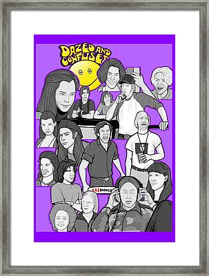 Dazed And Confused  Framed Print by Gary Niles