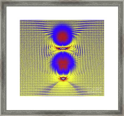 Dazzle Bright Framed Print