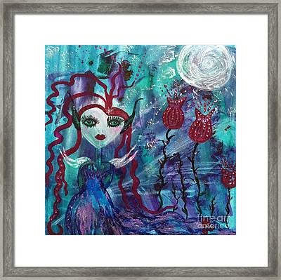 Dazzle Framed Print by Julie Engelhardt