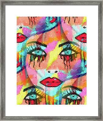 Dazzle Them Framed Print by Kathleen Sartoris