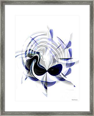 Dazzling Mask Framed Print by Thibault Toussaint