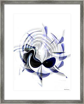 Dazzling Mask Framed Print