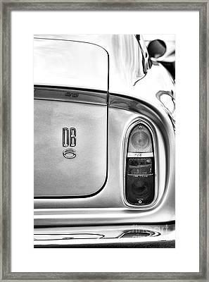 DB6 Framed Print by Tim Gainey