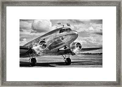 Dc-3 Dakota Framed Print