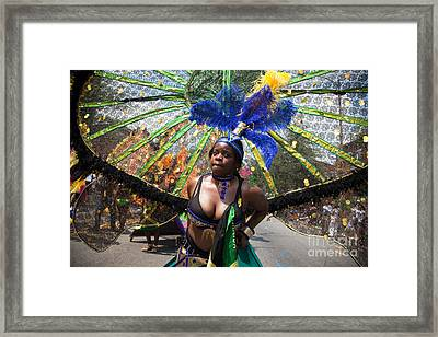 Dc Caribbean Carnival No 12 Framed Print by Irene Abdou