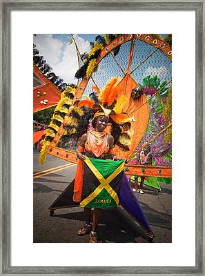 Dc Caribbean Carnival No 13 Framed Print by Irene Abdou