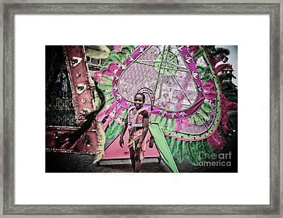 Dc Caribbean Carnival No 14 Framed Print by Irene Abdou