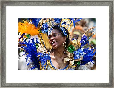 Dc Caribbean Carnival No 20 Framed Print by Irene Abdou