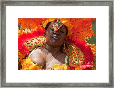 Dc Caribbean Carnival No 22 Framed Print by Irene Abdou