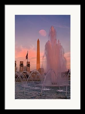 Commemorating Framed Prints