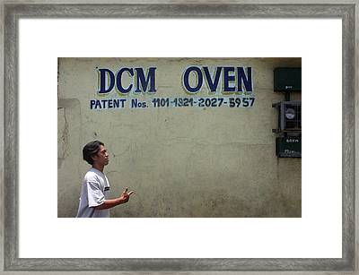 Dcm Oven Framed Print by Jez C Self