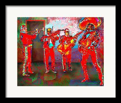 Impressionism Digital Art Framed Prints