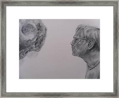 De Es Schwertberger Framed Print by Adrienne Martino