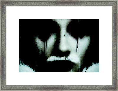 De Face IIi Framed Print