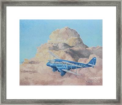 de Havilland Dragon Rapide Framed Print