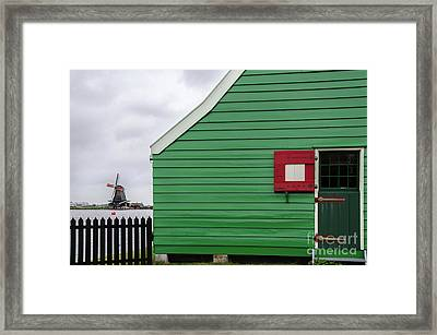 De Huisman Mill Front Framed Print by RicardMN Photography