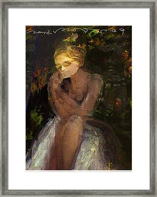 De Jardin 2 Framed Print by Noredin Morgan