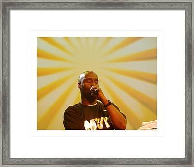 De La Soul Framed Print