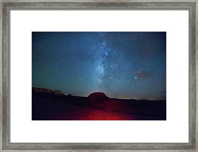 De Na Zin Milky Way Framed Print