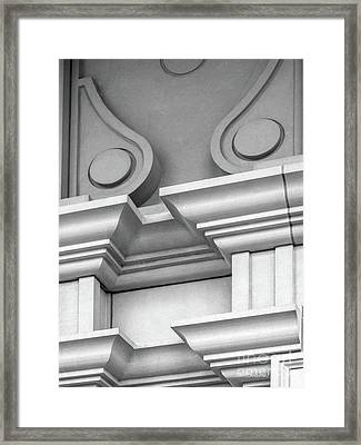 De Pauw University Detail Framed Print