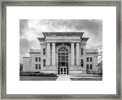 De Pauw University Emison Building Framed Print