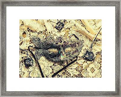 Dead Blossoms Days Framed Print