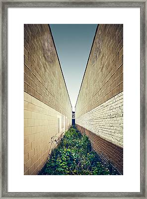 Dead End Alley Framed Print