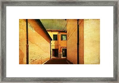 Dead End Framed Print