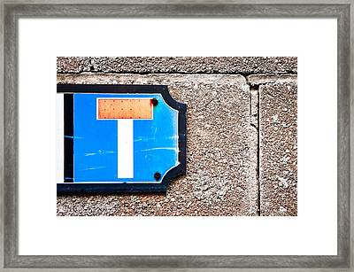Dead End  Framed Print