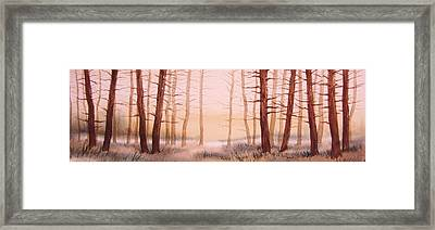 Dead Forest Framed Print by Kevin Heaney