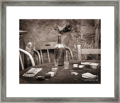 Dead Hand Framed Print by Arni Katz